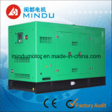 Conjunto de generador diesel silencioso refrigerado por agua de 35kVA Weichai