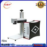 Принтера частей предварительного 20With 30With50W быстрой скорости машина отметки лазера волокна резиновый портативная
