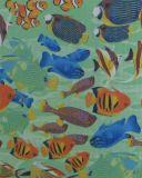 600d Oxford Fisch-Drucken-Polyester-Gewebe mit Kurbelgehäuse-Belüftung