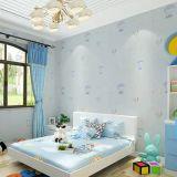 Jcc 벽지 직물 침실 학교 유치원을 돋을새김해 이음새가 없는 현대 아이들 아이