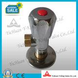 Válvula de ângulo de bronze da água quente (YD-H5028)