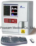 Analyseur automatique de hématologie de 3 pièces de clinique approuvée de la CE (WHY6390)