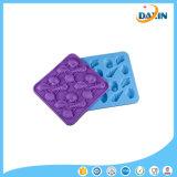 Moulage fait au hasard de silicones de biscuit de chocolat de glace d'interpréteurs de commandes interactifs de trellis de glace de silicones de couleur