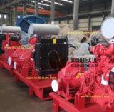 750gpm-1250gpm Bomba de água centrífuga Combustível contra incêndio Combustível a incêndio com motores diesel Listado UL / FM