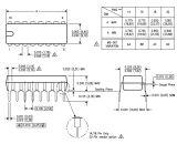 Транзистор Uln2003an электронных аппаратур Componenttexas