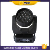 Bewegendes Head Light Stage Effect Zoom 19PCS LED Light