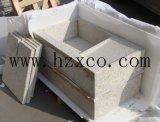 Pietra naturale del granito della pietra delle mattonelle di pietra bianche tongane delle mattonelle G655
