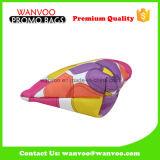 다채로운 연약한 연필 장식용 옷장 저장 면 직물 부대