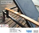 SGS de Gediplomeerde OpenluchtLanterfanter van de Zon Textilene van het Strand van de Pool Regelbare