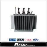 O petróleo de 3 fases imergiu transformadores de 300 kVA