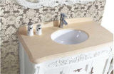 Qualité Solid Wood Floor Bathroom Vanity avec Mirror