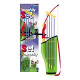 El deporte determinado del tiro al arco plástico del juguete juega (H0635186)