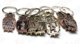Chinesisches Style Customized Metal Souvenir Key Ring mit Highquality