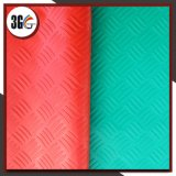 Циновка настила PVC (выбитые решетка, прокладка, листья, монетка)