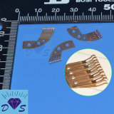 Pièces en métal de pièce de rechange de contact coulissant en métal de précision