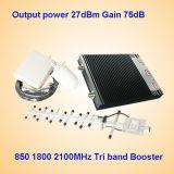 De Spanningsverhoger van het signaal voor TriBand 850 1800 2100MHzNieuw Zeeland Gebruik