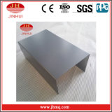 De zwarte Fabrikant van de Gordijngevel van het Aluminium van de Deklaag PVDF (JH180)