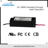 12 ~ 20W conducteur courant constant LED avec Triac / Elv Dimming