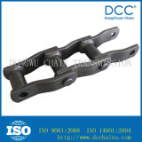 Catena di convogliatore saldata industria dell'acciaio inossidabile del metallo della trasmissione