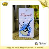 Papel personalizar etiqueta colgante para Guitarra (JHXY-HT0011)