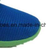Les plus défuntes chaussures d'injection de toile d'enfants, chaussures occasionnelles de bande magique, glissade sur des chaussures avec la bonne qualité