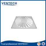 換気の使用のためのHVACシステム天井のタイルの渦巻の空気拡散器