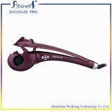 O ferro iónico infravermelho cerâmico automático do encrespador de cabelo da onda mágica popular, tem o plugue de EU/UK/Us/Au