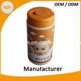 100PCS小さなかんの赤ん坊のぬれたクリーニングのワイプ