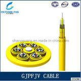 Волокна буфера распределения цели поставкы изготовления Китая кабель Gjpfjv профессионального Multi плотно крытого оптически