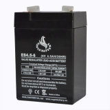 Bateria acidificada ao chumbo recarregável quente da venda 6V 4.5ah VRLA Mf