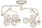LED操作ランプ二重アーム天井のタイプ3 4つの開口LED3t4tの外科ランプ、医学ランプ