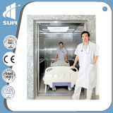 Velocità 1.75m/S Hairline Stainless Steel Bed Elevator