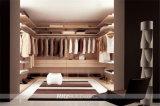 Ritz Schlafzimmer-Möbel-einfacher festes Holz-Garderoben-Wandschrank