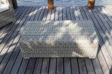 屋外の柳細工の家具のソファー