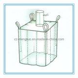 Sac de polypropylène de fond plat grand avec le tissu de bec et de cloison de dessus de remplissage à l'intérieur