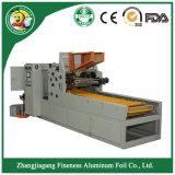 Papier d'aluminium semi-automatique Rewinder et machine de découpage