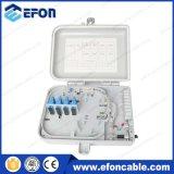 1X8 1X16 PLC 쪼개는 도구 FTTH 10pair 광섬유 접속점 끝 상자 (FDB-016A)