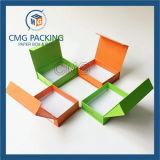 Caixa da dobra do ímã da alta qualidade com o logotipo impresso (CMG-PGB-016)