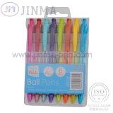 La boîte-cadeau la plus populaire avec le crayon lecteur de bille de 8 PCS Jms1036b