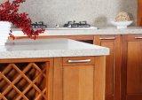 Armadio da cucina poco costoso di legno solido del commercio all'ingrosso cinese della fabbrica di N&L