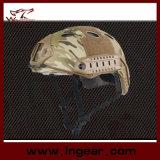 Шлем безопасности Pj тактического шлема воинский с ясным забралом для напольного Wargame