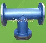 Goole fabrizierte Kohlenstoffstahl flanschte t-Typ Grobfilter