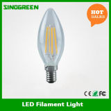 Lampadina piena libera E12 del filamento di vetro E14 2W LED