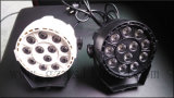 LED 12X1w 플라스틱 바디 (P12-1)를 가진 소형 동위 빛
