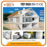 機械を作るAACのブロックの製造業者によって通気されるコンクリートブロック