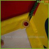 Progettare la bandiera per il cliente del vinile di caduta di stampa del getto di inchiostro di colore completo