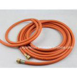Weaving ad alta resistenza Fiber Braided Working Pressure 20bar Flexible Rubber Gas Cooker Hose