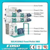 Operation facile Fish Feed Pellet Machine pour Aqua Feed