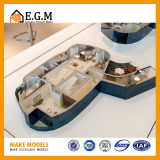 Het uitstekendste en Mooie Model van de Flat/van de Model/Binnenlandse van Modellen Eenheid Modellen van /Scene/Model van /Apartment van de Eenheid het Model