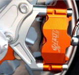 Kundenspezifische Farbe anodisierte Aluminium CNC-Prägeteile